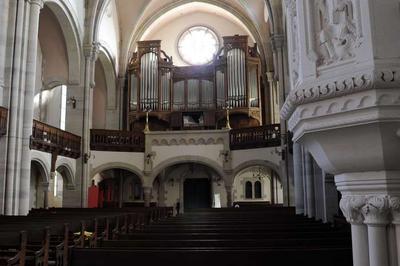 Concert - Chant Choral Et Démonstration D'orgue à Metz