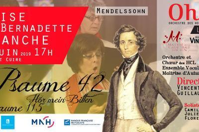 Concert Choeur et Orchestre Mendelssohn à Caluire et Cuire