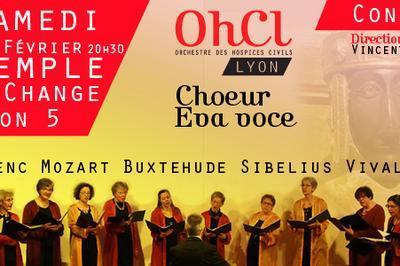 Concert Choeur Eva Voce et l'Ensemble à cordes de l'OHCL à Lyon