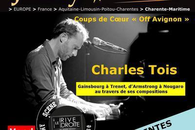 Concert Cityjazzy - Charles Tois à Saintes
