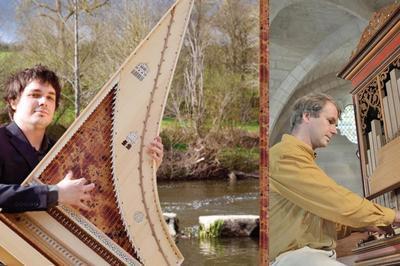 Concert clavecin et orgue avec Matthieu Boutineau et Francis Jacob à Saessolsheim