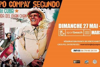 Concert Compay Segundo - Sport Beach à Marseille