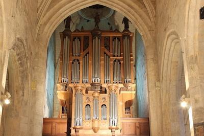 Concert D'orgue à Fere en Tardenois