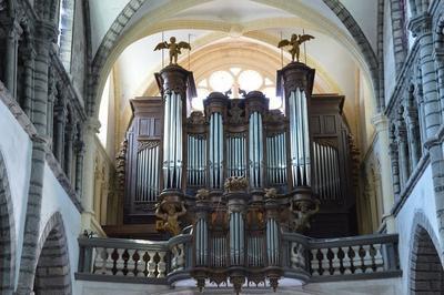 Concert D'orgue à La Collégiale Saint-anatoile à Salins les Bains