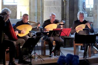 Concert D'un Quatuor De Luthistes à Champcey