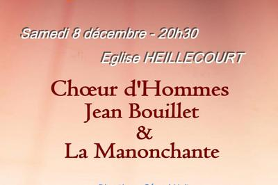 Concert de chant choral à Heillecourt