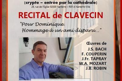 Concert de Clavecin à Nanterre