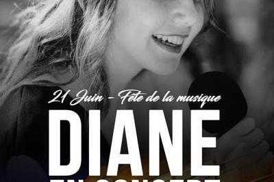 Concert de Diane à Chatillon