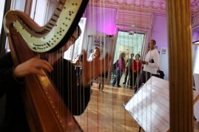Concert De Harpe Dans Le Musée à Conflans sainte Honorine