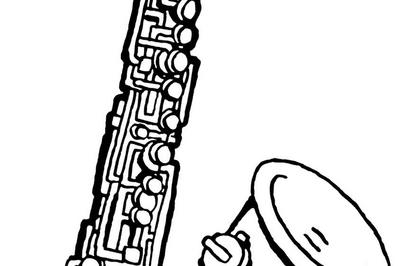 Concert de jazz à l'église de Saessolsheim par Pierre Jacob (orgue) et Fabrice Ley (saxophone) dans le cadre du stage d'été