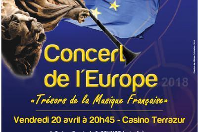 Concert de l'Europe à Cagnes sur Mer
