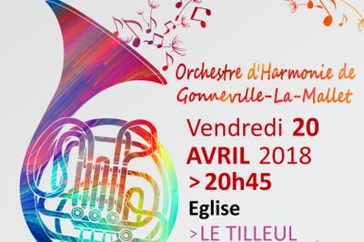 Concert de l'Orchestre d'Harmonie de Gonneville-La-Mallet à Le Tilleul