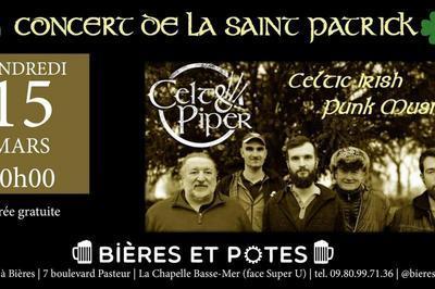 Concert de la Saint Patrick avec les Celt&Piper à La Chapelle Basse Mer