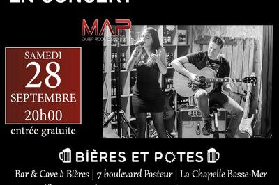 Concert de MAP Duet Rock Band à La Chapelle Basse Mer