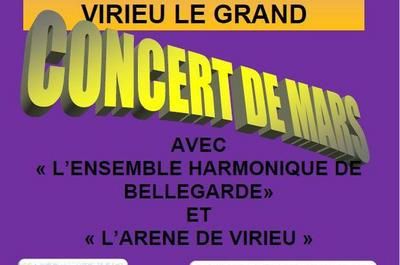 Concert de Mars à Virieu le Grand