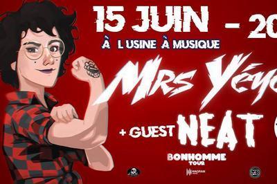 Concert de Mrs Yéyé (Bonhomme Tour) avec Neat à Toulouse