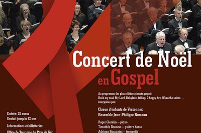 Concert de Noël en Gospel à Versonnex