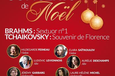 Concert de Noël Tchaikovsky et Brahms à Tours