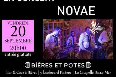 Concert de Novae à La Chapelle Basse Mer