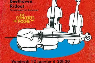 Concert De Poche : Philippe Graffin Violon, Gérard Caussé Alto, Gary Hoffman Violoncelle à Vitry le Francois