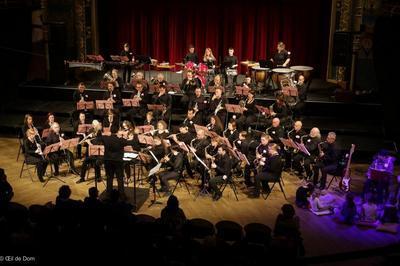 Concert de printemps de l'Harmonie des CHaprais à Besancon