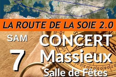 Concert de Printemps - La Route de la Soie à Massieux