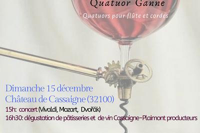 Concert-dégustation au Château de Cassaigne