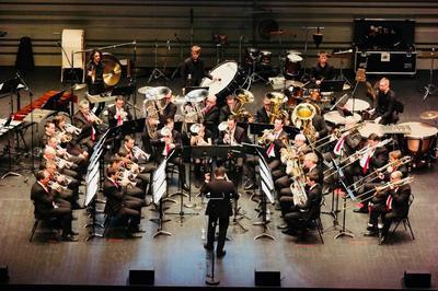 Concert Du Brass Band Des Pays De La Loire à Montjean sur Loire