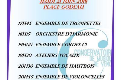 Concert Du Conservatoire De Musique à Vence