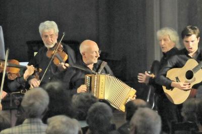 Concert du groupe corse Caramusa à Objat