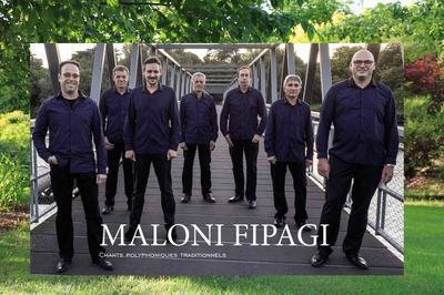 Concert Du Groupe Polyphonique Drômois Maloni Fipagi Au Jardin. à Alboussiere