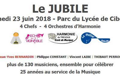 Concert du Jubilé - 25 ans de direction à Miserieux