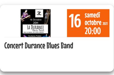 Concert Durance Blues Band à Aix en Provence