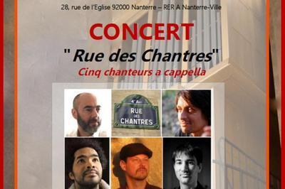 Concert ensemble vocal à Nanterre