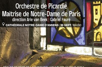Concert Evenement - 800 Ans De La Cathedrale Notre-dame D'amiens à Amiens