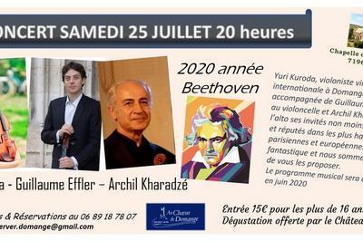 Concert exceptionnel Kuroda Effler Kharadzé à Ige