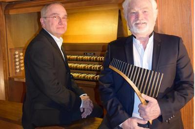 Flûte de Pan et orgue à Bort les Orgues