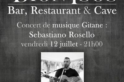Concert Gipsy avec Sebastiano Rosello à Arandon
