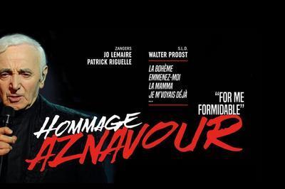 Concert Hommage A Aznavour à Contrexeville
