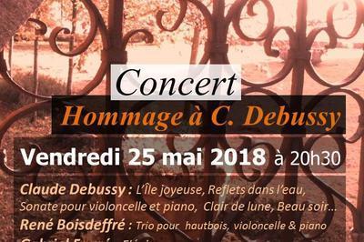 Hommage à Claude Debussy à Charenton le Pont