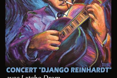 Concert-hommage à Django Reinhardt à Mourmelon le Grand