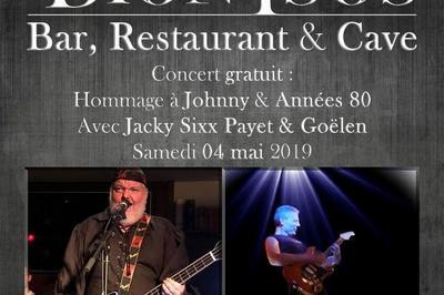 Concert Hommage à Johnny & Années 80 à Arandon