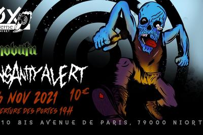 Concert : Insanity Alert et Mobütu à Niort