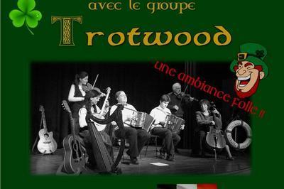 Concert  irlandais de la nouvelle année avec trotwood à Saint Etienne