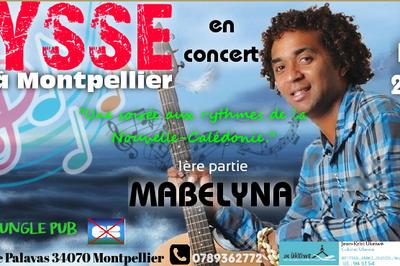 Concert Jysse | 1ère Partie Mabelyna | Soirée Calédonnienne à Montpellier