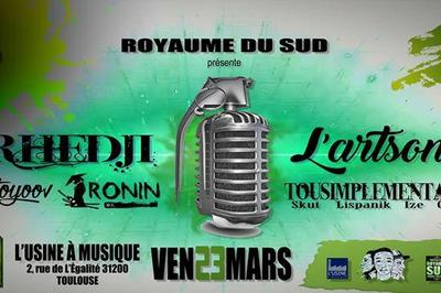 L'ArtSonOr // Rhedji // TST // Ronin & VitoYoov à Toulouse