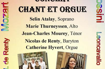 Concert  Lyrique Chant Et Orgue à Nice