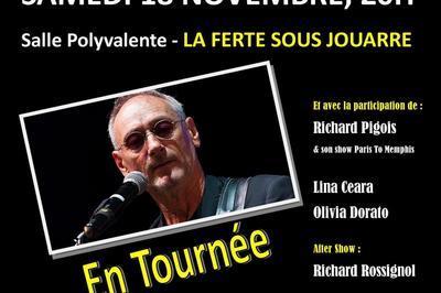 Concert Michael Jones à La Ferte Sous Jouarre