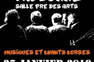 Concert musiques et chants corses à Valbonne