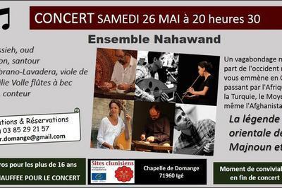 Concert musiques médiévales et orientales à Ige